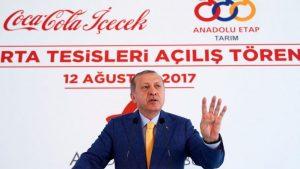 Rabialı Coca Cola açılışı… Erdoğan fabrikayı açtı, İslamcılar ayağa kalktı!