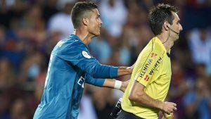 Cristiano Ronaldo hakemi itti 5 maç ceza aldı