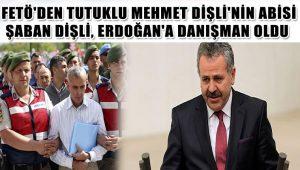 Şaban Dişli, Cumhurbaşkanı Başdanışmanlığına getirildi
