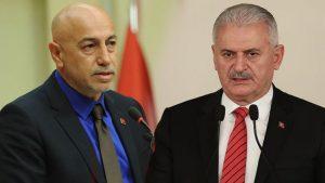 "CHP'li Erdal Aksünger'den Başbakan Binali Yıldırım'a ""kripto FETÖ'cü"" iması"