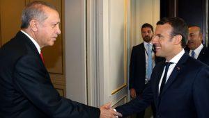 Fransa Cumhurbaşkanı Macron, Cumhurbaşkanı Erdoğanı aradı