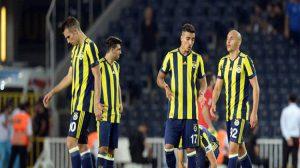 Fenerbahçe Avrupa'dan elendi!
