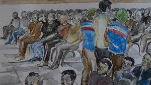 FETÖ sanıklarının yargılandığı duruşma salonuna tarla faresi girdi