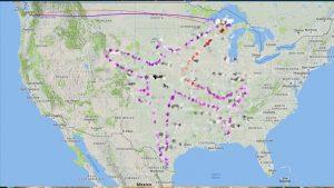 ABD'de pilot 'radardan' resim çizdi