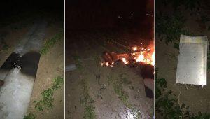 Adana-Ceyhan'da ABD'nin insansız hava aracı düştü