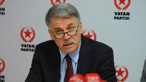 Vatan Partisinden şok ayrılık: İsmail Hakkı Pekin istifa ettiğini açıkladı!