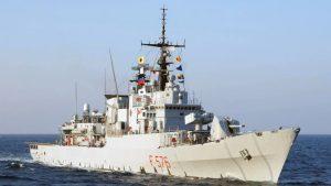 İtalya Deniz Kuvvetleri, Alman gemisine el koydu