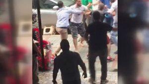 Rize'de kavga: Bir bakış attı, tekme tokat dayak yedi