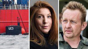 Röportaj yapmak için bindiği denizaltının sahibi, kadın gazeteciyi denize atmış