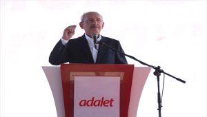 Kemal Kılıçdaroğlu Adalet Kurultayı'nın sonuç bildirgesini açıkladı