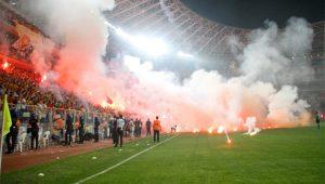 Göztepe-Eskişehir maçına soruşturma: 49 gözaltı