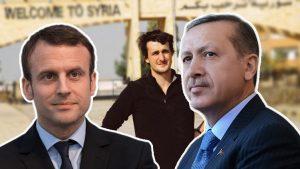 Erdoğan Fransız Mevkidaşı Macron ile telefonda görüştü