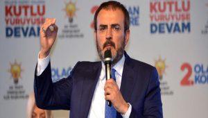 AKP sözcüsü Mahir Ünal'dan CHP'ye eleştiri
