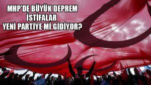 MHP'den 410 kişi istifa etti: Yeni partiye katılıyoruz