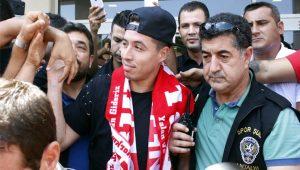 Samir Nasri Türkiye'ye geldi