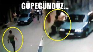 Sokak ortasında bıçaklı saldırı