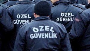 Özel güvenlikçi sayısı polisi geçti orduyu yakalamaya az kaldı