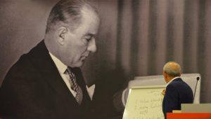 Kemal Kılıçdaroğlu parti okulunda Atatürk dersi verdi