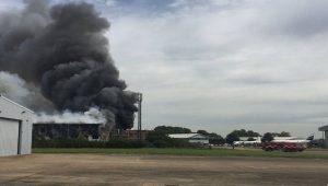 Londra'daki Southend Havalimanı'nda patlama
