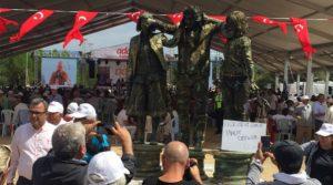 Performans sanatçılarından Adalet Kurultayı'nda Nuriye ve Semih için adalet talebi