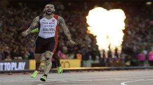 Ramil Guliyev 200 metrede dünya şampiyonu!