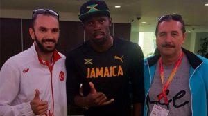 Dünya Şampiyonu Ramil Guliyev, Usain Bolt ile bir araya geldi