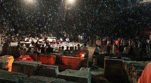İdil Biret'i, 3 bin yıllık Stratonikeia antik kentinde 10 bin kişi izledi