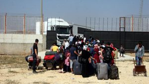 Suriyeliler bayram nedeniyle ülkelerine gidiyor