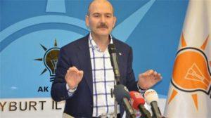 """Süleyman Soylu'dan """"Nuriye-Semih"""" pankartına tepki… Maçlar üç kategoriye ayrılacak!"""