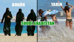 """Suudi Arabistan'ın yeni veliaht prensinden """"bikini"""" hamlesi!"""