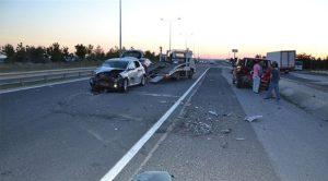 Tatilin 2 günlük bilançosu: 300 kaza; 8 ölü, 580 yaralı