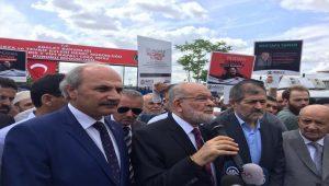 Temel Karamollaoğlu: Ülkede adalet sıkıntısı var