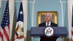 ABD Dışişleri Bakanı Tillerson'dan Türkiye'ye insan hakları ve dini azınlık eleştirisi!
