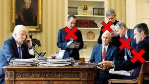 ABD Başkan'ı Trump yanındaki 5 adamın 4'ünü kaybetti