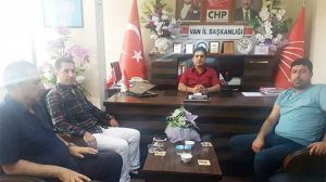 ANAP Genel sekreteri Harun Çakı, CHP İl Başkanı Mehmet Kurukcu'yu ziyaret etti