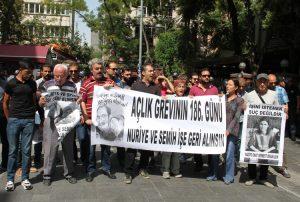 Yüksel'de 306'ncı gün: Gülmen ve Özakça'nın duruşmasına çağrı
