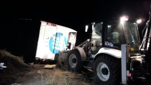 Yozgat'ta yolcu otobüsü devrildi: 2 ölü, 44 yaralı
