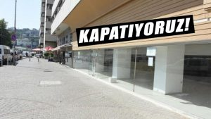 İzmir'de korkutan görüntü: Dükkanlar kepenk indirdi