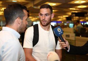 Fenerbahçe'nin yeni forveti Vincent Janssen İstanbul'a geldi…İşte ilk açıklaması