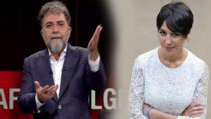 Ahmet Hakan'dan Melis Alphan'a tepki: Yuh! Atmasyon olur da bu kadar olur…