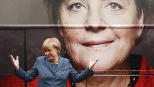 Almanya'daki seçimin galibi Başbakan Angela Merkel oldu