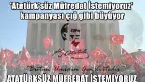 'Atatürk'süz Müfredat İstemiyoruz' kampanyası çığ gibi büyüyor