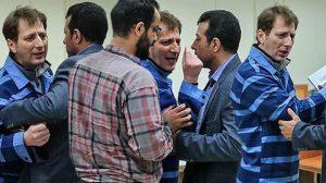 Rıza Sarraf'ın İranlı ortağı Babek Zencani, mahkemede avukatın üstüne yürüdü!