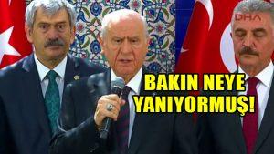 Devlet Bahçeli: Kör Niko Türkiye gündeminin önüne geçti, ona yanıyorum