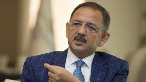Çevre ve Şehircilik Bakanı Özhaseki: Türkiye'nin yarısını neredeyse yok edeceğiz