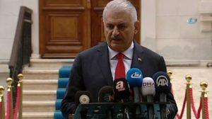 Başbakan Yıldırım açıkladı: Erbil ve Süleymaniye'ye uçuşlar resmen durdu