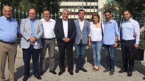 CHP'li avukatlar, Kılıçdaroğlu'nun avukatı Celal Çelik'i ziyaret etti