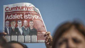 Cumhuriyet çalışanlarının tutukluluklarının devamına karar verildi