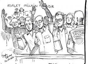Cumhuriyet Gazetesi davası: Kadri Gürsel savunmasını yaptı