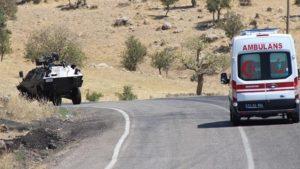 Diyarbakır'da çatışma: Bir Uzman Çavuş şehit oldu, bir Binbaşı yaralı